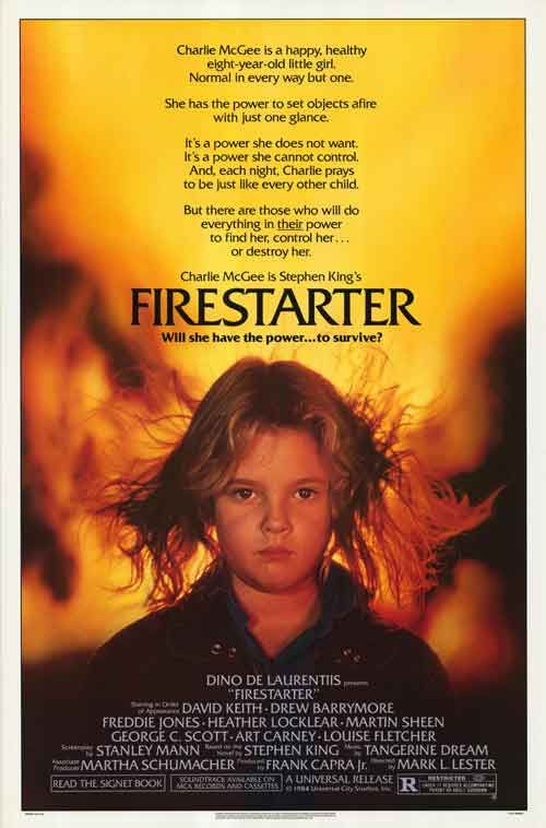 firestarter | Firestarter movie posters at movie poster warehouse movieposter.com