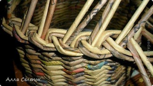 Плетение загибки косичкой. Мастер класс. - Плетение из газетных трубочек - Поделки из бумаги - Каталог статей - Рукодел.TV