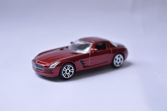 Jual Diecast Majorette Street Cars Mercedes Benz Sls Diecast