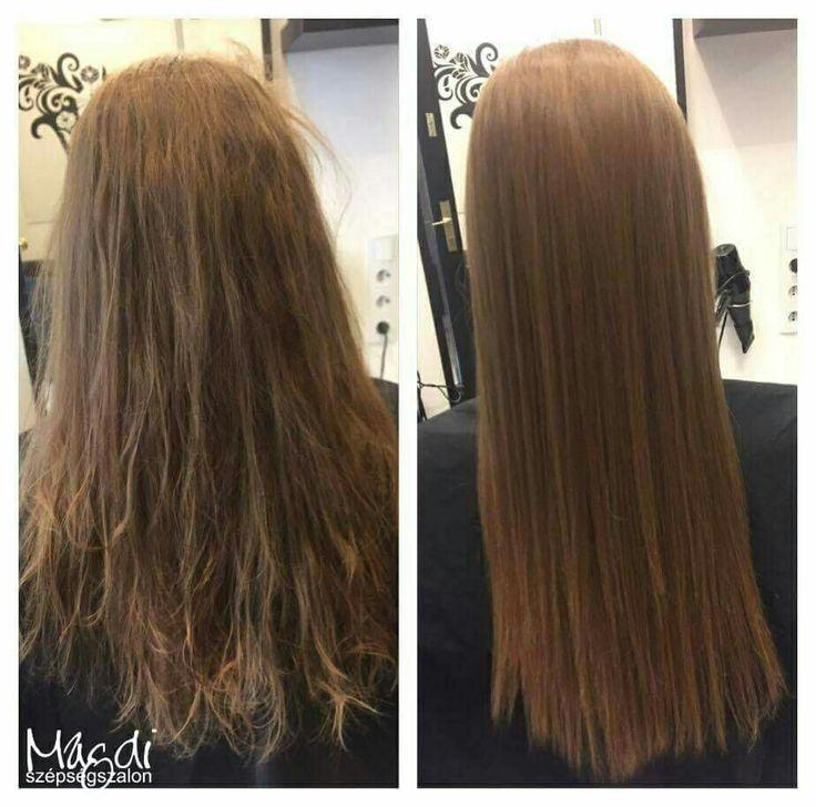 Keratinos hajegyenesítéssel, akár 3 hónapon át szép egyenes és puha hajad lesz.  Noémi, tartós hajegyenesítése is gyönyörű lett 😃  www.magdiszepsegszalon.hu/tartoshajegyenesites  #brazilkeratin #brazilcacau #keratin #keratinoshajegyenesítés #hajegyenesítés #hairdresser #fodrász #beautysalon #szépségszalon #szeretjukamunkankat #ilovemyhair #ilovemyjob❤️ #szeretemahajam
