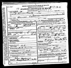 """""""Secret"""" Codes on Death Cerificates >  How Your Ancestor Died /  fhd"""