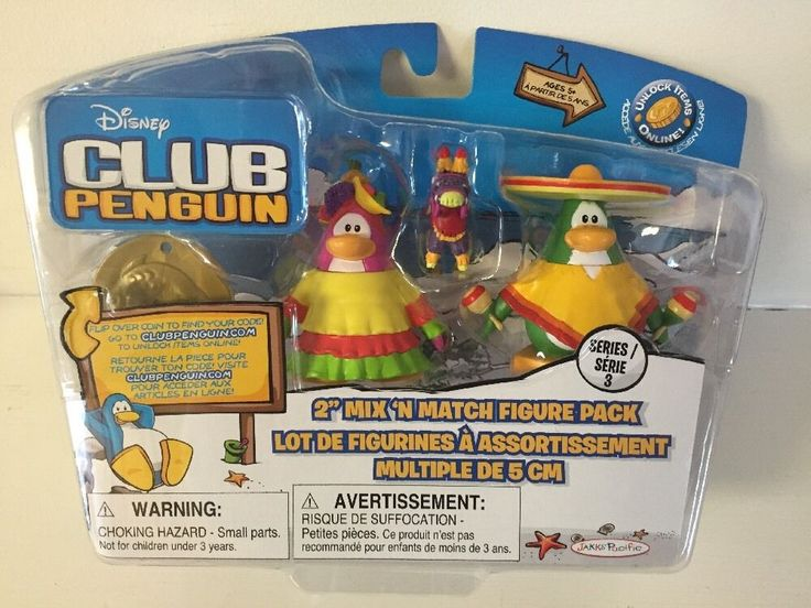 Disney Club Penguin Series 3 Fiesta & Sombrero Figure Pack BRAND NEW & RARE! | Toys & Hobbies, TV, Movie & Character Toys, Disney | eBay!
