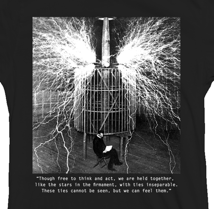 26 best tesla coil images on pinterest tesla coil alternative nikola tesla tesla coil quote shirt sciox Gallery