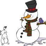 Schnee, Schnee..## Winter Fingerspiel – Annette Fischer