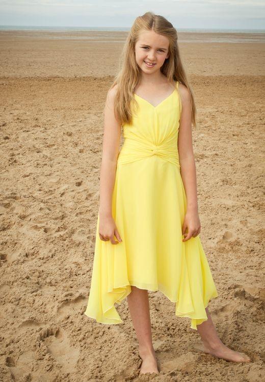 87c3a91b165 yellow junior bridesmaid dresses vintage yellow wedding