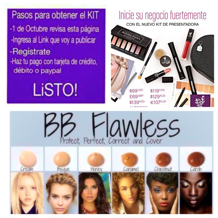 Oppotunidades maquillaje rimel Younique mascara direct sales