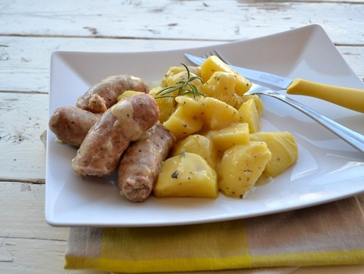 Salsiccia e patate ricetta bimby
