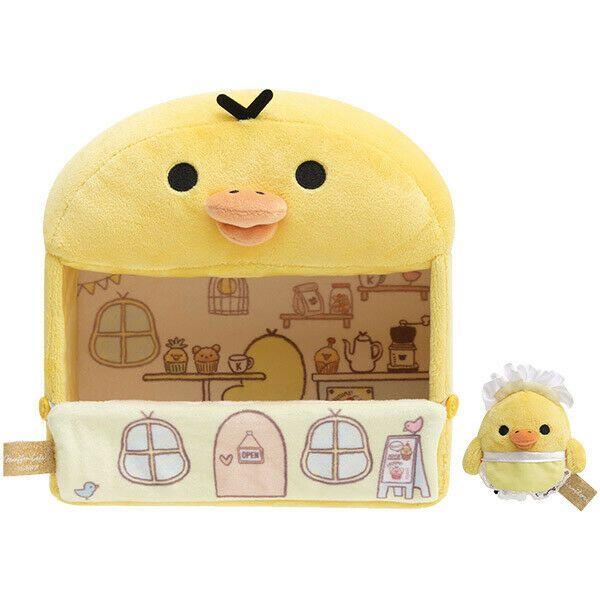 Rilakkuma Miniature Sofa and Kiiroitori Plush Doll San-X Japan
