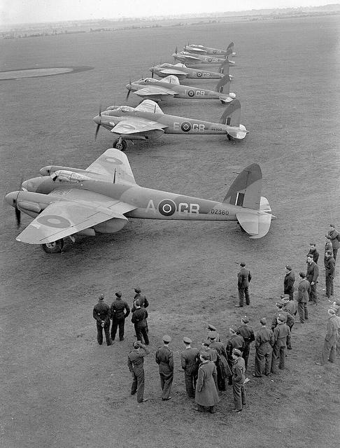 De Havilland DH.98 Mosquito B.IV's