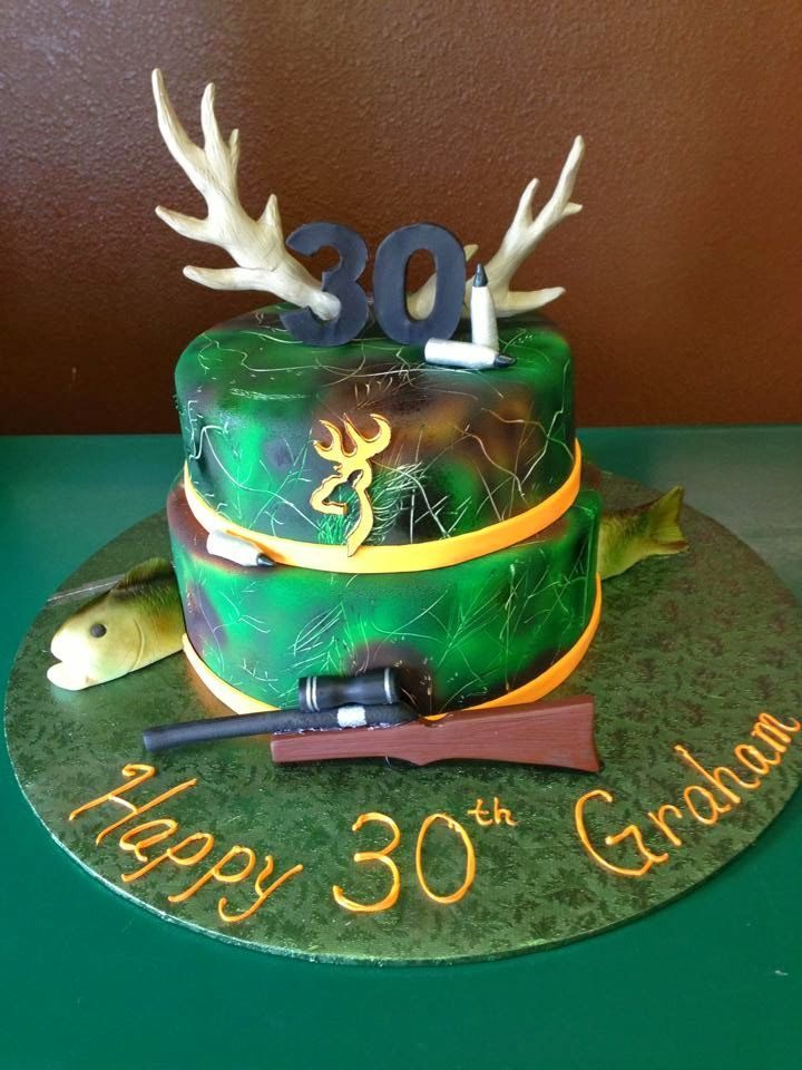 Hunting Cake Designs Perfectend for