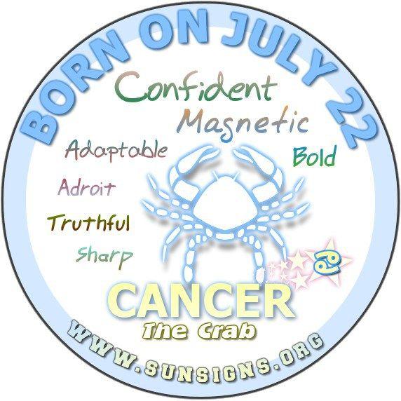 July 22 Birthday Horoscope Personality » Sun Signs