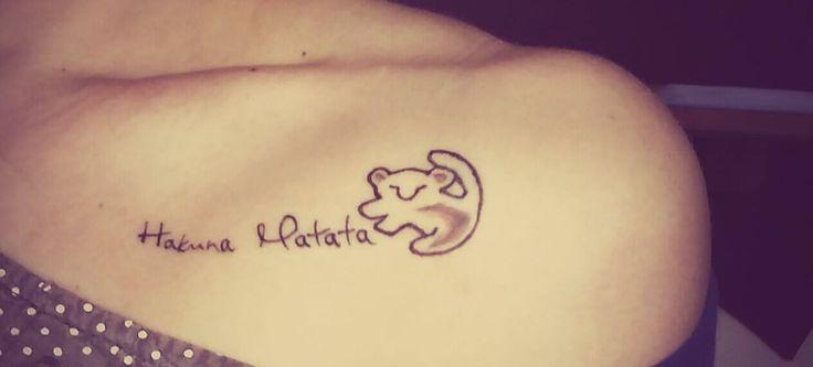 Hakuna Matata Tattoo
