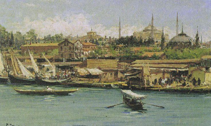 Fausto Zonaro - Istanbul (2)