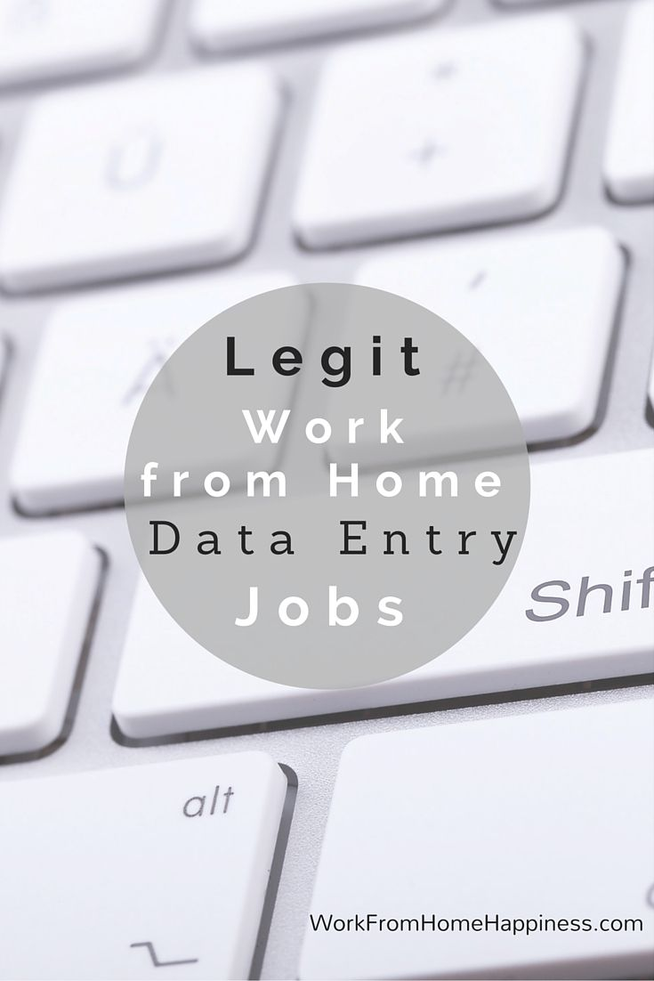 Are You Looking For Legitimate Work From Home Data Entry Jobs There Are Some Out