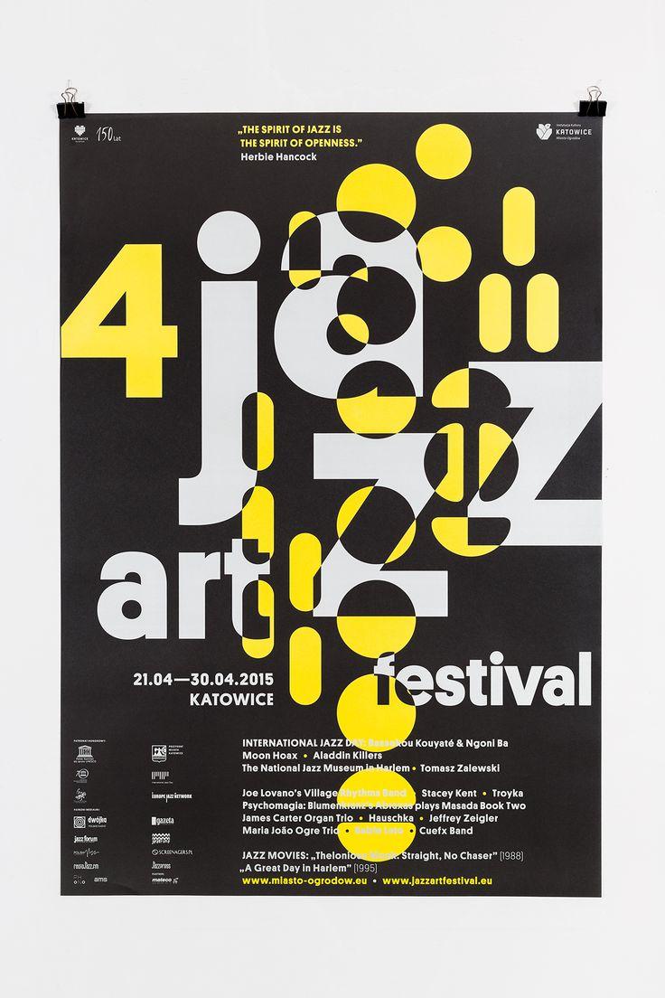 Poster design book - Jazzart Festival 2015 On Behance