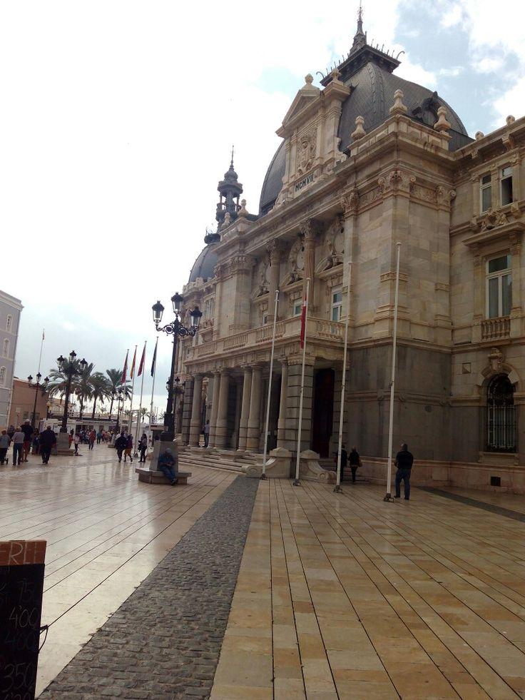 Ayuntamiento de Cartagena (Murcia) Siglo XVIII.