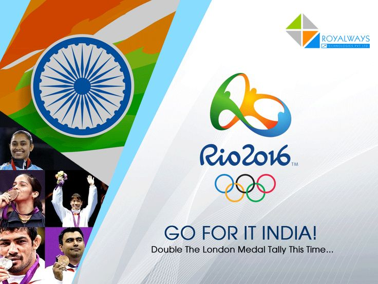 Here's wishing all the luck to Indian Contingent for #RioOlympics2016. GO FOR IT INDIA!!! (Y)  #olympicFever #SportsLove #IndiaAtOlympics