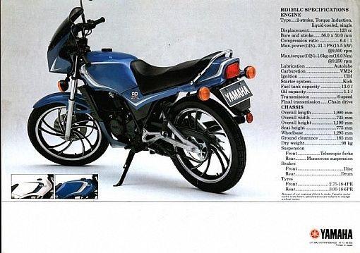 Yamaha RD125LC Road Test - Classic Motobikes - Bike Reviews