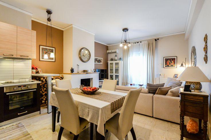 Shabby Chic style μία ζεστή αίσθηση για το σαλόνι σας #efimesitiko #realestate #alexandroupoli