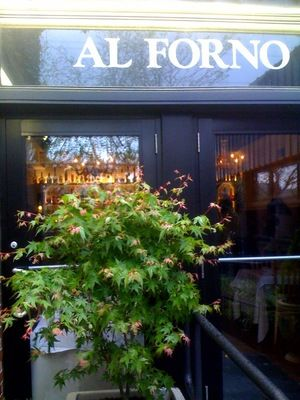 Al Forno restaurant... in downtown Providence, Rhode Island.