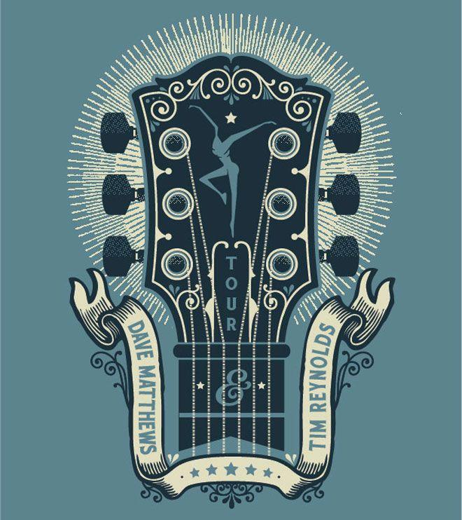 Two Arms Inc. - Dave Matthews Band tour shirts