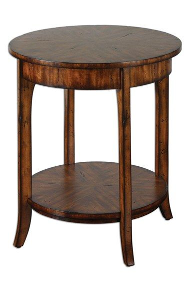 Uttermost 'Carmel' Distressed Wood End Table available at #Nordstrom