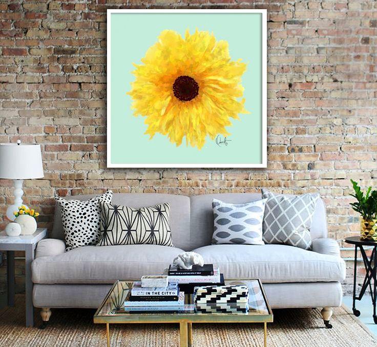 Enmarcado Sol de Oriana Cordero / Art Frame