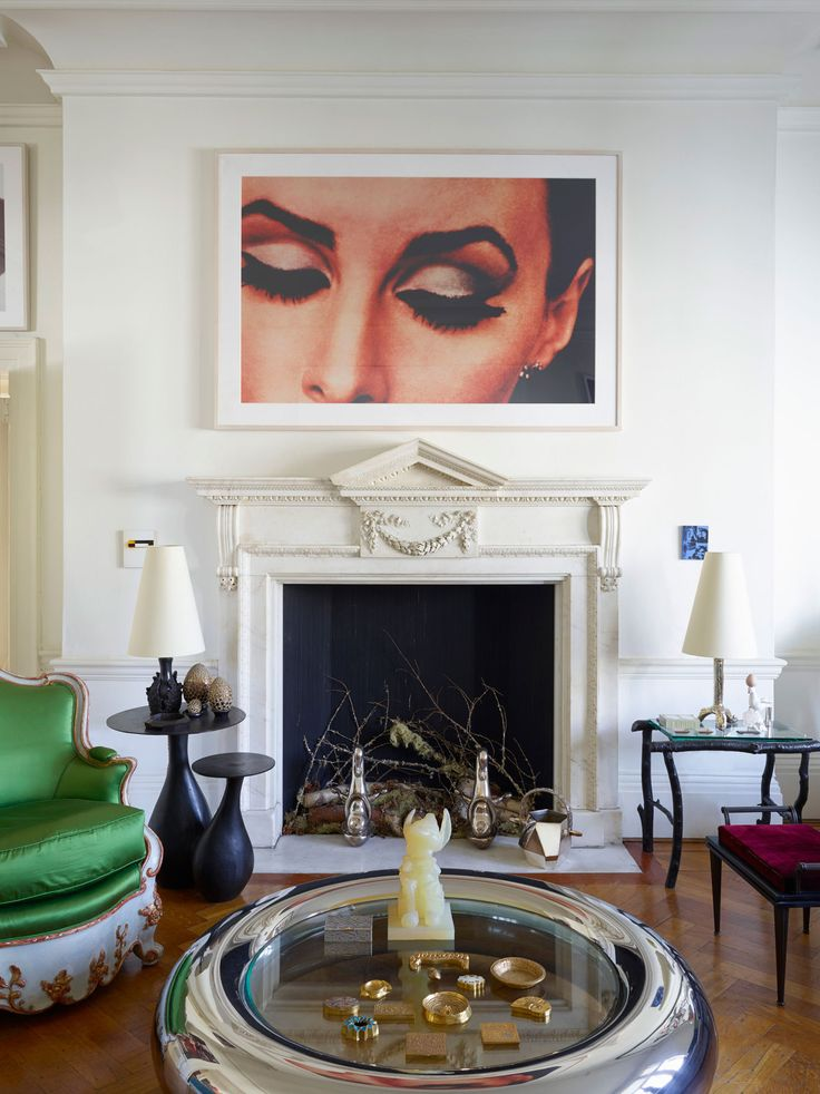 LIBERTYN interiors - wmagazine:   Brit Pop  Photo by Henry Bourne; W...