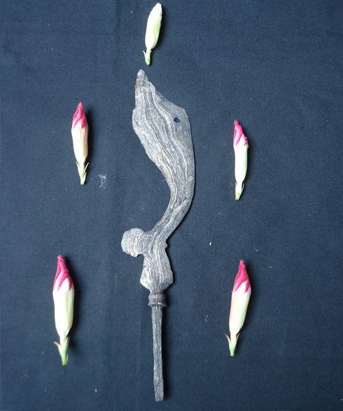 Kujang Pusaka Prabu Siliwangi  Pusaka Kuajang adalah pusaka asli khas daerah jawa barat khususnya tanah pasundan, pusaka ini merupakan pusaka warisan turun menurun dari kerajaan Padjajaran. Pusaka Kujang adalah pusaka andalan raja Padjajaran di masa itu, dengan Raja yang bernama Prabu Siliwangi. Pusaka Kujang di percaya memiliki khasiat untuk : Menciptakan kedamaian, ketenangan, ketentraman bagi kelangsungan hidup orang banyak, sebagai pusaka piandel, pusaka pamungkas,