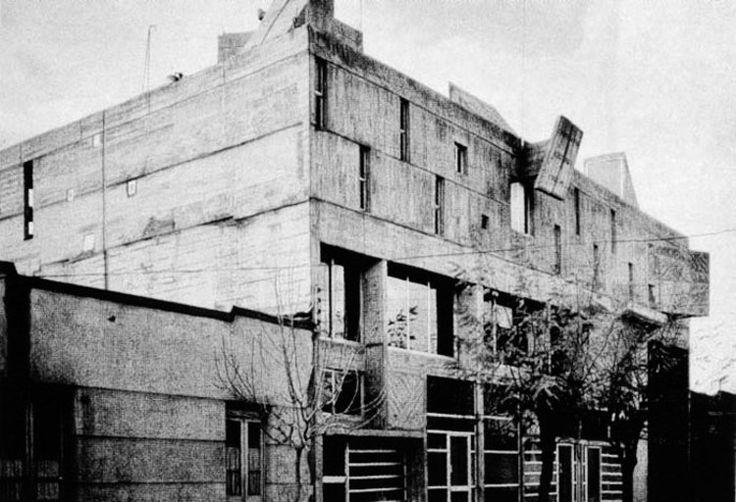 Edificio Copelec / Juan Borchers, Jesús Bermejo & Isidro Suárez 1962