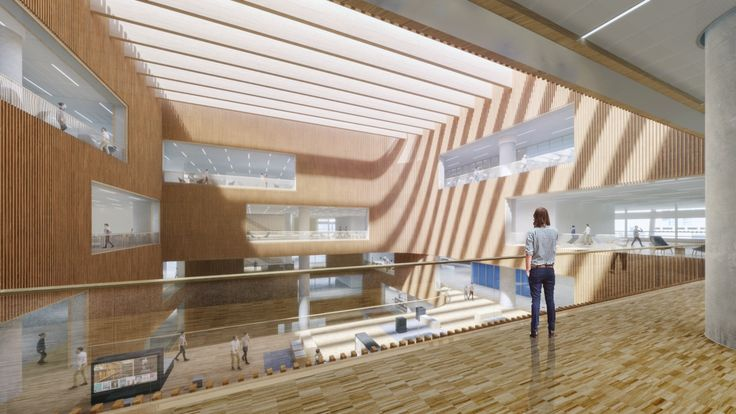 SHL Shanghai East Library Floor6