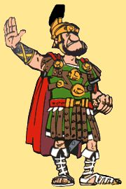 Julius Pompus  Legionary in the Compendium camp. Sentry.