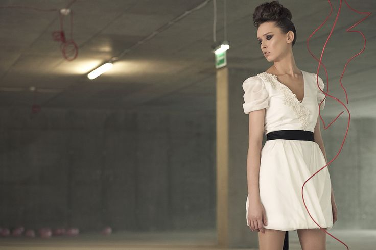 www.femini.pl short bridal dress