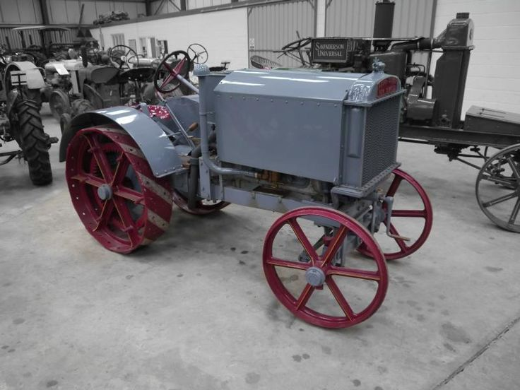 Auction Lot 244  (1922 WEEKS-DUNGEY 'New Simplex' 4cylinder petrol/paraffin TR..) Image 1