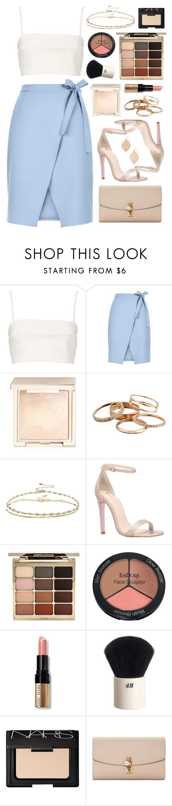 """Carvela Gatsby"" by sophiehackett ❤ liked on Polyvore featuring Witchery, New Look, Jouer, Kendra Scott, ASOS, Carvela, Stila, Isadora, Bobbi Brown Cosmetics and H&M"