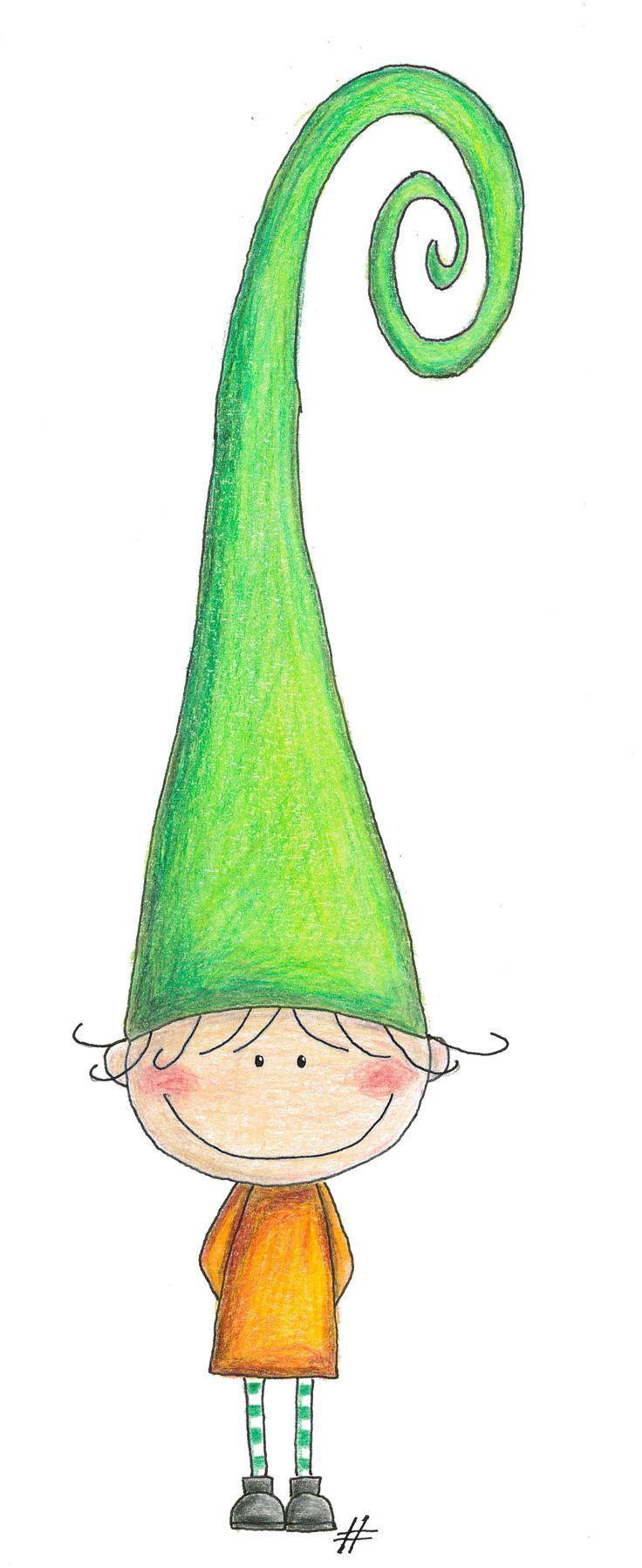 Resultado de imagen para watercolor elfos , fairies, gnomos