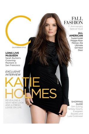 Katie Holmes reveals a sexy new look on the cover of C Magazine - September 2012