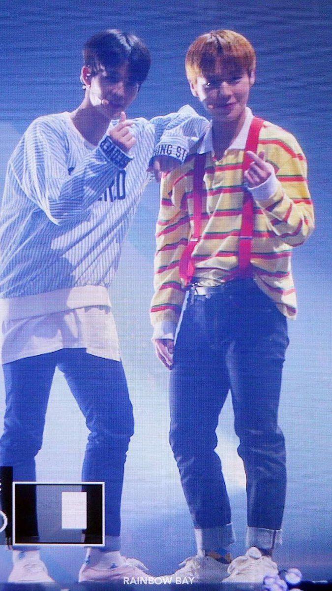 jinyoung & jihoon