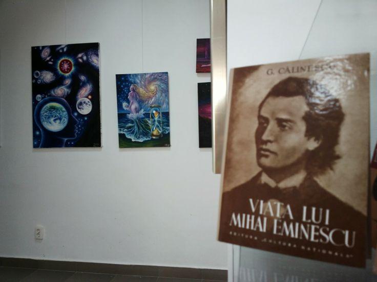 Carti si picturi despre Mihai Eminescu