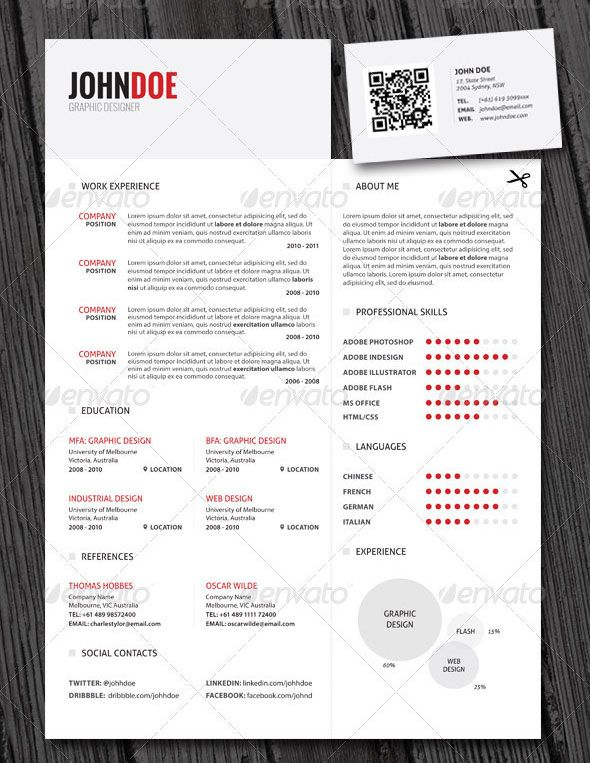 12 best Business is business images on Pinterest Best wordpress - resume business cards