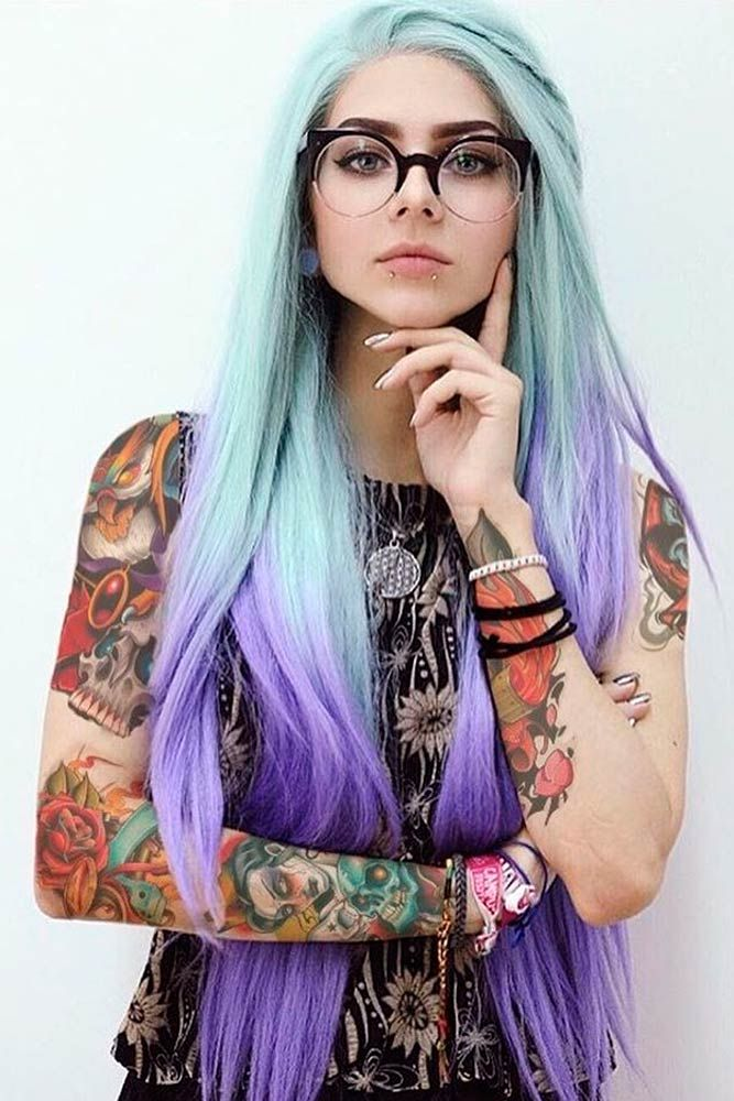 best 25 light purple hair ideas on pinterest colored highlights hair dyed hair and pastel. Black Bedroom Furniture Sets. Home Design Ideas