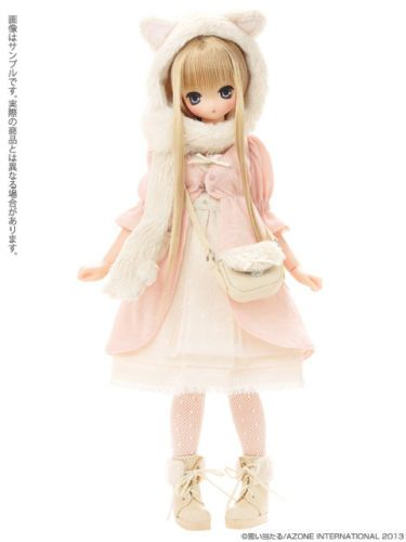 Azone 1/6 Doll Excute Aika Komorebimori no Dobutsutachi Cat Pure Neemo