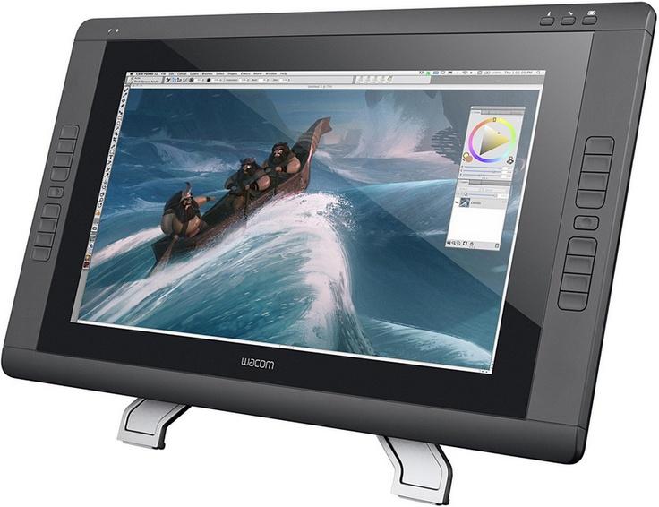 #Wacom dévoile la #Cintiq22HDtouch, une nouvelle #tablette avec écran interactif à stylet + contrôle tactile