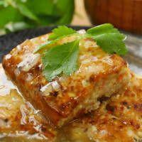 ふわふわ食感!豆腐と長芋の四角いヘルシーハンバーグ