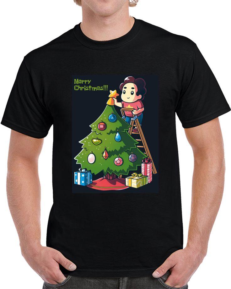 Crystal Gem Christmas Steven Universe  T Shirt