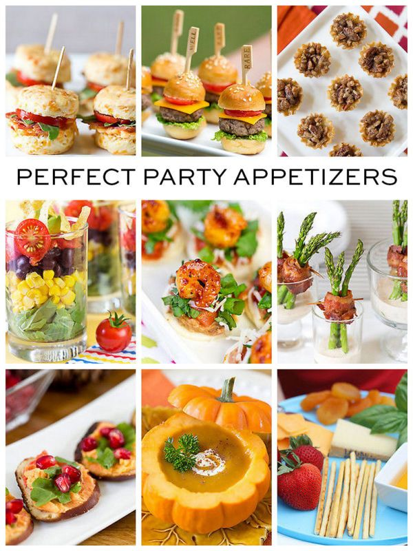 9 party appetizer ideas easy party appetizers appetizer for Great party appetizer recipes