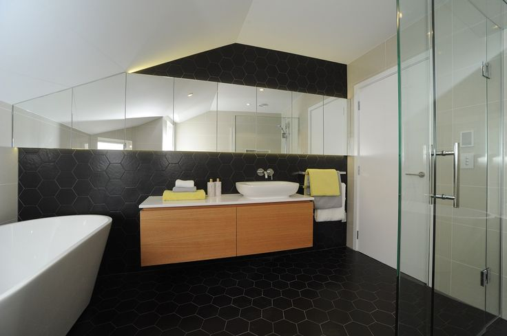 Black Hexagons, by Tile Warehouse
