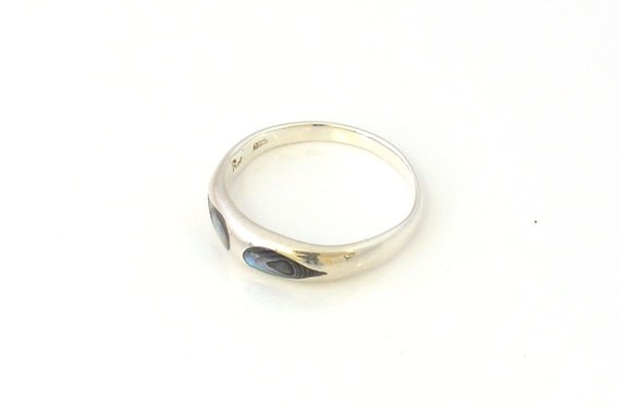 Paua World - Smooth Sterling Silver and Paua Shell Ring, $49.90 (http://www.pauaworld.com/smooth-sterling-silver-and-paua-shell-ring/)