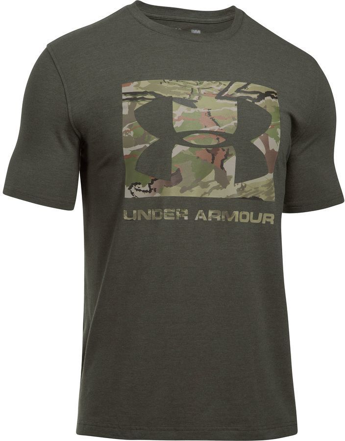 Under Armour Camo Knockout Short-Sleeve Logo T-Shirt
