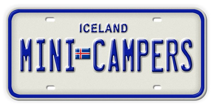Iceland Mini Campers offers a selection of fully equipped camper vans, which afford visitors total freedom to travel around Iceland. With Iceland Mini Campers you can set up camp and cook your own meals literally anywhere in Iceland or choose between more than 120 camping sites for added comfort. #campervanrental logo.